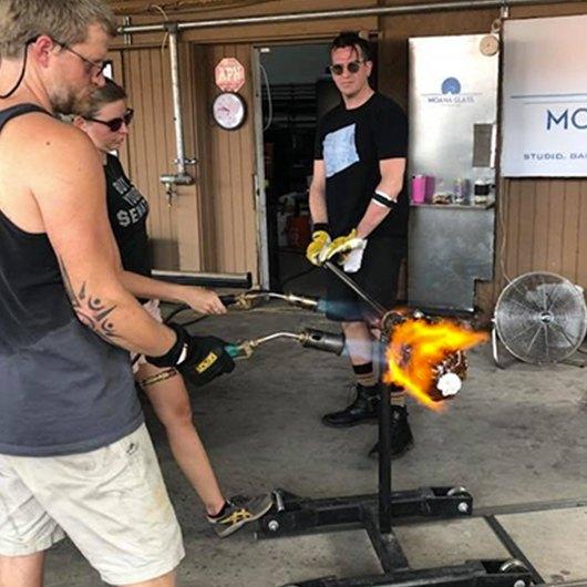 activities at Moana Glass
