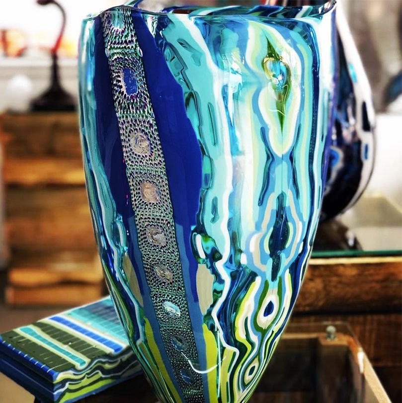 product glass blown at Moana
