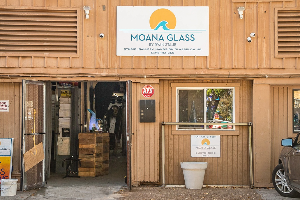Lahaina Glassblowing Studio Parking