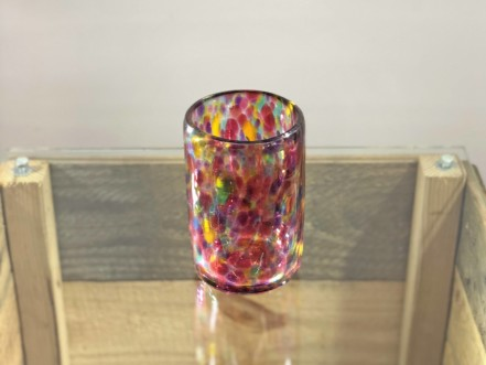 glass blown cup