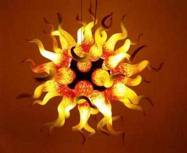 sun chandeliers