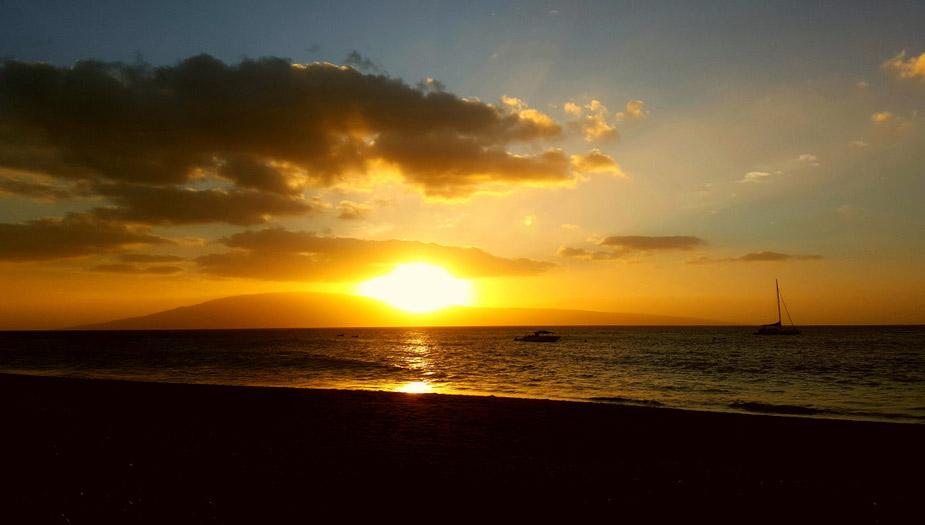 Sunset at Ka'anapali Beach