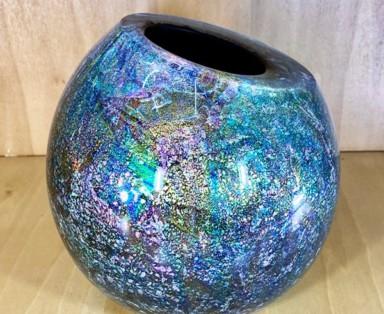 New Large Dragon Egg Moana Glass Art