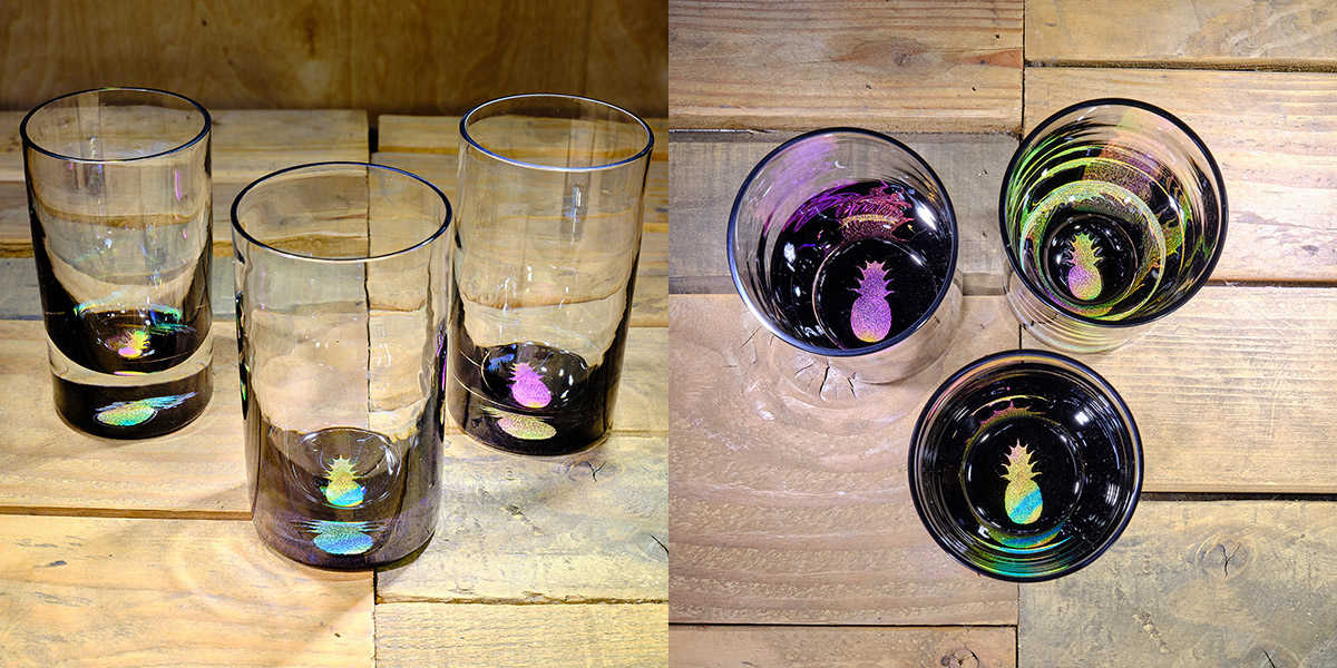 Pineapple Water Glass in Multi-color – $75 Each
