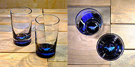 Whale Water Glass in Ocean Blue/Seafoam Green- $65 Each