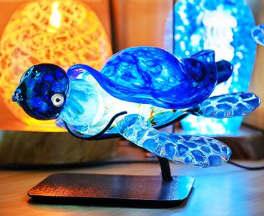 Cobalt Blue Frit Honu Feature Image